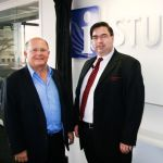 Dean Nick Binnedel at the opening of the GIBS Video Studio.