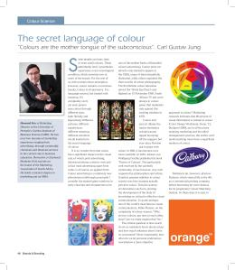 Secret Language of Colour - Brands and Branding Annual