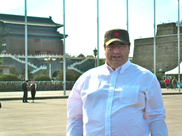 On Tiananmen Square Beijing