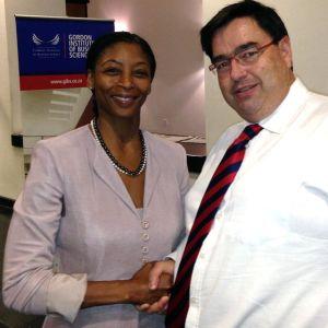 Howard and  Nonkululeko Nyembezi-Heita