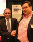Gaurav Bhalla author of HBR article Rethinking Marketing and Howard Fox